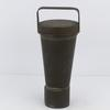 Mesure conique 1/2 litre en zinc ancienne