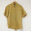 Chemise jaune à carreaux