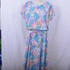 Robe vintage à imprimé fleuri - 44