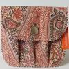 Zéro-déchet : Pochette à savon imperméable en bâche recyclée- Rose vintage