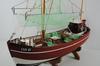 Bateau de pêche, maquette