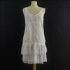 Robe à bretelles blanche 3 suisses collection -Taille 40