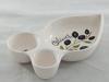 Plat apéro décor olive - estampillé fr