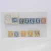 11 timbres  Napoléon et Cérès Dentelés et non dentelés