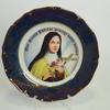 Assiette en porcelaine Sainte Thérèse