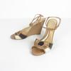 Sandale à semelle compensée Sergio Rossi femme 39