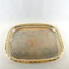 Plateaux doré en métal style ancien