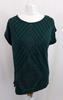 T-Shirt vert argenté   - 42 - CAMAIEU