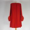Manteau Givenchy Femme de couleur rouge taille 40