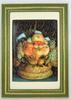 Petit tableau Arcimbolo-corbeille de fruit-illusionnistes-encadré-Marie Louise en tissue
