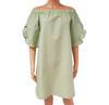 Neuf & étiquette robe Monoprix T 36 en lin et coton