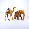 La marche du Rajasthan sculptures animalières