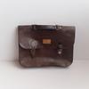 Cartable vintage en cuir de Marque Lewis Strauss