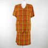 Cintée pour la veste, droite pour la jupe - Carole Richard - 46