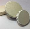 Zéro-déchet : Lot 3 Couvre-plat lavables réutilisables en métis recyclé - 3 tailles différentes