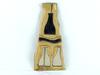 Mosaïque de miroirs et de bois