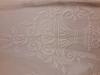 rideau crocheté - motif floral
