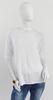 T-shirt blanc effet coupure horizontale  - S - SCOTTAGE