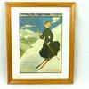 Petite affiche vintage Chamonix PLM