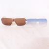 Lunettes de soleil pour homme coloris fumé + 1 rechange bleue - Cazal 904