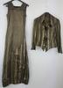 Ensemble avec veste et robe en soie - Soana  - 38