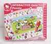 Puzzle interactif Hello Kitty pour enfant - Bon état