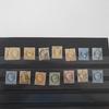 14 timbres Napoléon et Cérès dentelés et non dentelés