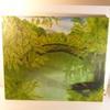 Tableau peint à la main (huile sur toile)