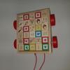 Chariot bloc alphabet en bois Jouet à partir de 24 mois - Melissa et Doug