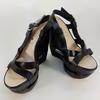 Chaussures compensées en cuir - Céline - 36