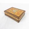 Petie boîte en bois sculpté et peinte à la main de Russie