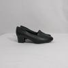 Chaussures noires en cuir - Ortissimo - Pointure  38