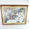 Lithographie Renoir Le déjeuner des canotiers