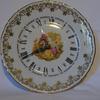 Horloge sur Assiette