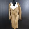 Manteau long avec capuche neuf - INTROPIA - 44