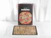 Boîte de jeu de Domino en bois vintage, JeuJura, 70'sr