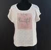 Tee-shirt écru imprimé Bréal - Taille L