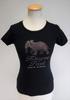 T-shirt manches courtes noir - Africa - M