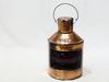Lampe à huile en bateau laiton antique marque PORT