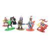 Lot de 9 petits figurines de Héros DC Comics en métal