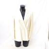 Veste tailleur en lin et soie écrue - Ascot - Taille 38