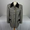 Blazers Femme Escada motifs carreaux de couleur blanc et noir taille 40