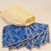 Zéro-déchet : Lot 7 lingettes démaquillantes lavables en bambou Oeko-Tex GOTS + pochon