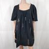 Robe noire avec strass - Etam - Taille 40