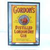 Cadre miroir GORDON'S GIN