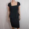 Robe noire - Zara - Taille L