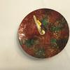 assiette decorative piece unique  - Laque line