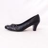 Escarpins en cuir noir - Tamiko taille 40