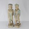 Statuettes en bois.