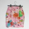 Jupe Kamosho de couleur rose à motifs marin taille 42